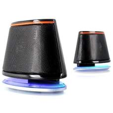 Акустическая система 2.0 F&D V-620 USB Black