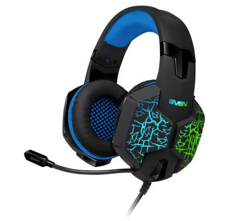 Наушники SVEN AP-U980 MV Black/Blue